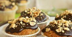 Cumino e Cardamomo: Muffin alle nocciole e copertura al cioccolato