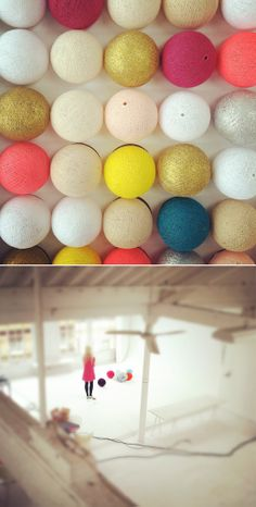 string lights in custom colors!