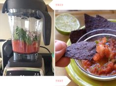 Quick spicy salsa by lesley zellers, via Flickr - plus a lot of other recipe ideas