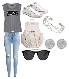 """""""Back to school #2"""" by skybruder10 on Polyvore featuring Carmakoma, H&M, Converse, Smoke & Mirrors, Wallis and Karen Kane"""