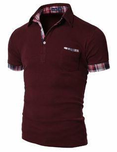 Doublju Mens Polo T-shirts with Short Sleeve WINE L(US Medium) Doublju,http://www.amazon.com/dp/B0054N0ECW/ref=cm_sw_r_pi_dp_yyMcsb0KAZ0JS1EY