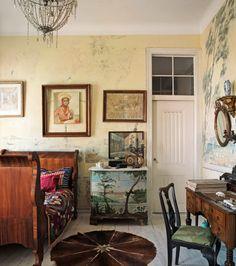 La Maison Boheme: Home Tour Interior Architecture, Interior Design, Ivy House, Antique Interior, Bohemian Interior, Cool Rooms, House Colors, Sweet Home, Furniture