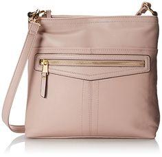 Tignanello Pretty Pockets Large Cross Body Bag, Peony, One Size Size