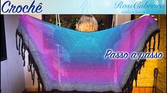 Poncho Shawl, 1, Youtube, Shawl, Crochet Clothes, Sweets, Youtubers, Youtube Movies
