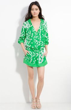 DVF drop waist dress / Hello summer