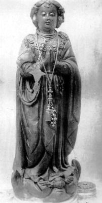 Nossa Senhora da Conceição The original statue of Our Lady of the Immaculate Conception of Aparecida, the patroness of Brazil.