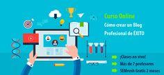 Descubre uno de los mejores cursos para aprender a montar blogs profesionales de éxito: desde comprar el dominio hasta el SEO y monetización > http://formaciononline.eu/curso-completo-para-crear-un-blog-profesional/