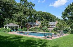 Pool Setting in Fabulous Brick Manor Home. #DonnamarieChaimanis #Muttontown #GoldCoast #GoldCoastRealtor #iSellHomes #MillionDollarListings #NassauCounty #LongIsland #Realtor #RealEstate #LuxuryHomes #LuxuryListings #DreamHome #DreamHouse