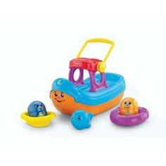 Fisher-Price Topzy Tumblers Tubtime Tumblin' Boat