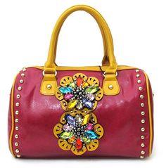 Nicole Lee Handbags | Home > New Handbags Arrival > Nicole Lee Bags Sophia Handbag GemStone ...