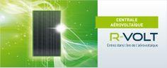 R-VOLT, système aérovoltaïque : en plus de l'électricité photovoltaïque produite, vous récupérez l'énergie thermique des panneaux solaires pour chauffer votre habitation.