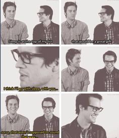 Brendon is adorable.