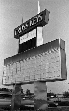 Cross Keys Shopping Center, Florissant, Missouri.  Built in 1969, demolished in 2003. Photo by Toby Weiss. tobyweiss.com