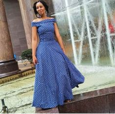 SHWESHWE CLOTHING DESIGNS BEAUTIFUL AT PARTIES South African Traditional Dresses, Traditional Dresses Designs, Shweshwe Dresses, African Culture, Africa Fashion, African Fashion Dresses, Designer Dresses, Couture, Parties