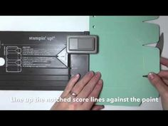 ▶ Project Go Create! Stampin Up Gift Bag Punch Board tutorial - YouTube