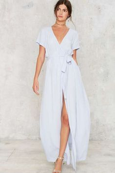 Factory Wrapped Up in It Maxi Dress