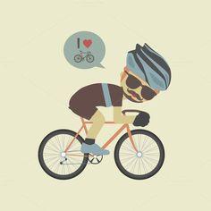 love bike. Travel Infographics. $7.00