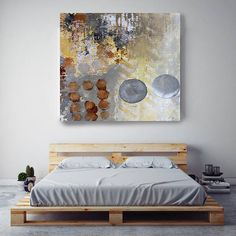 Geometric Abstraction UN1L. Geometrical Abstract Art Wall