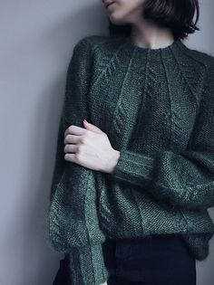 Ravelry: Forest Vibes Sweater pattern by Masha Zyablikova