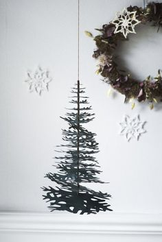 Scandinavian DIY Christmas Decorations from FAB Goose