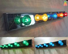 Cool Fairground Carnival Style Chrome Light Bar Wall by BobCool