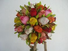 O que acham de flores em EVA para casamentos?