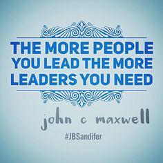 Leaders develop leaders. #leadership #growyourself #blue #johncmaxwell #follower