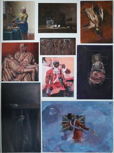 Top Art Exhibition - Painting » NZQA 2015 Fraser McIntosh, Marlborough Boys' College Board1