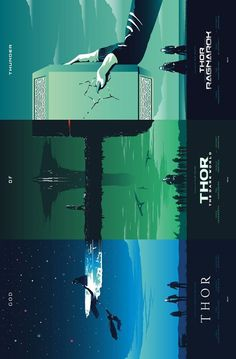 Thor Trilogy (sidenote: this is pretty cool I've never seen this art before) {. - Thor Trilogy (sidenote: this is pretty cool I've never seen this art before) {… Thor Trilogy -