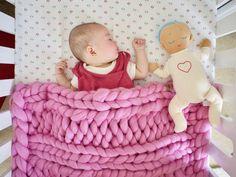 Coperta del bambino grosso  Coperta di grosso neonato