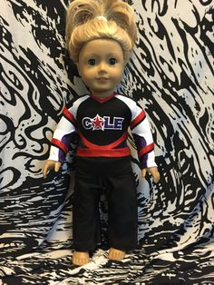 June 16th 2016 American Girl Doll Custom by ChemicalCityCouture