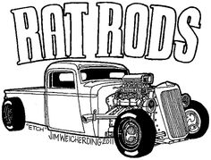 rat fink himself lowrider and other cars to color Pinterest
