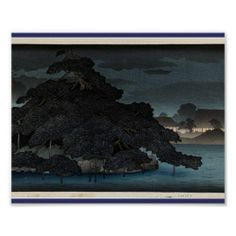 """sold an 8 x 10"""" Untitled Kawase Hasui Poster from my Asian themed shop this evening"""