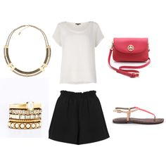 """""""Summer Style"""" by rebeccaself on Polyvore"""