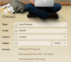 Useful Ideas And Guidelines For Good Web Form Design | Smashing Magazine