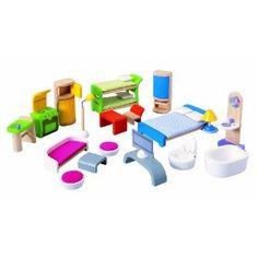 Plan Toy Modern Furniture Set (Toy)  http://www.amazon.com/dp/B000FZSP2K/?tag=goandtalk-20  B000FZSP2K