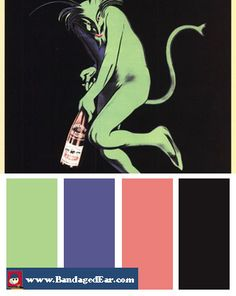 Happy Hour Color Palette: Maurin Quina