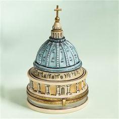 Limoges Ltd Ed Vatican Dome Box The Cottage Shop