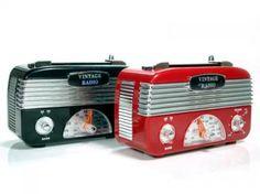 Rádios vintage #retro