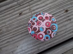 Mid Century Retro Mod Circle in Circle Print  2 by ReadinginRags, $4.00