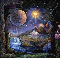 Doorway to the Stars by Josephine Wall Close your eyes and release your…