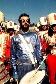 Ringo Starr Drumming 1976