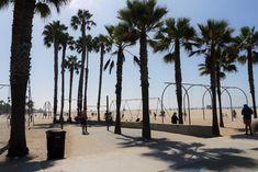 Highway Entlang der Pazifikküste von San Francisco nach L. Santa Monica, California Palm Trees, San Francisco, Muscle Beach, Highway 1, Post Office, Beverly Hills, Vacations, Highlights