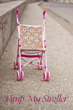 Free Stroller Seat Pattern. So needed for all those strollers in nursery.