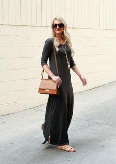 your Favorite Fall Maxi Dress • UPF 50+