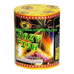 8s Crazy Fish (CA7508) Fireworks from CC FIREWORKS CO.LTD on YYUber.com