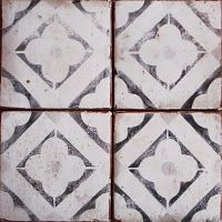 Vintage Looking Faded Spanish Tile