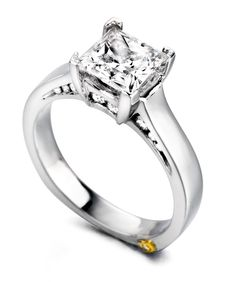 Engagement Ring of the Week: Inspire - Let her know how much she inspires you. Propose with this beautiful Mark Schneider diamond engagement ring.    http://markschneiderdesign.com/engagement-rings/traditional-engagement-rings/inspire-engagement-ring