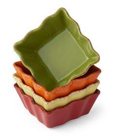 Spice Baking Dish Set by Prima Design #zulily #zulilyfinds