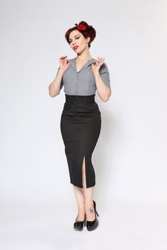 """A wonderful piece perfect for any lady's closet. Set yourself up with some sexy, sensible heels and a beautiful blouse to seal the deal. A perfect piece for the working girl. Can we say """"hot secretary""""?  $62.00"""